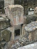 Fragment des ruines de Colosseum, Rome, Italie Photographie stock