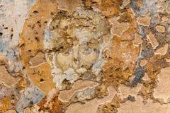 Fragment des vieux fresques Photos stock
