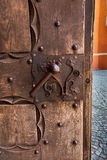 Fragment of the door to the cathedral in Pelplin in Poland Stock Photos