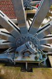 Fragment of the drive wheel in the Elblag Canal. Stock Images