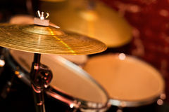 Fragment drumset Stock Photo