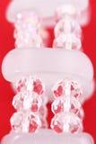 Fragment du bracelet en cristal Image stock