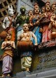 Fragment du temple indou Photos libres de droits