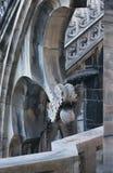 Fragment of Duomo Cathedral in Milan Royalty Free Stock Image