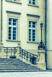 Fragment of eclectic architecture. Royalty Free Stock Photography