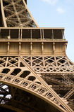 Fragment of Eiffel Tower Stock Photos