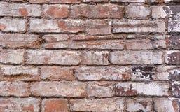 Fragment einer Backsteinmauer des 19. Jahrhunderts lizenzfreie stockbilder