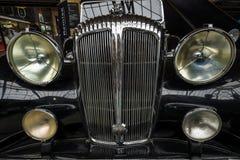 Fragment eines Luxusauto Daimler Des 36 Lizenzfreie Stockbilder