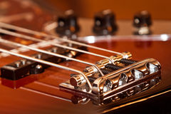 Fragment electric guitar Stock Photography