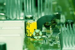 Fragment of the electronic Stock Photo