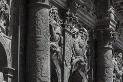 Chapel of Boim fragment in Lviv, Ukraine Stock Images
