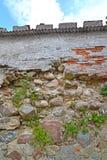 Fragment för Noykhauzen låsbefästning Guryevsk Kaliningrad region Royaltyfria Bilder