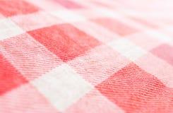 Fragment of a fabric closeup Stock Photos
