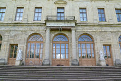 Fragment of a facade of the Big Gatchina palace. Russia Royalty Free Stock Photography