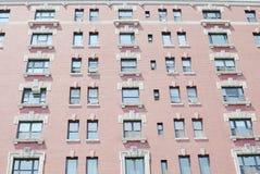 Fragment of a facade of a building Stock Photography