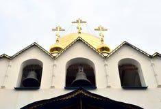 Fragment of Feodorovsky Gosudarev Cathedral. Royalty Free Stock Photos