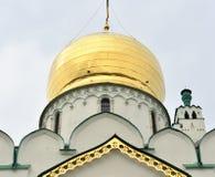 Fragment of Feodorovsky Gosudarev Cathedral. Stock Image