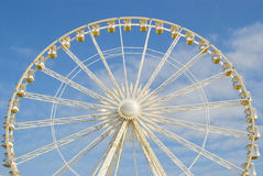 A fragment of the Ferris wheel. 