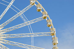 A fragment of the Ferris wheel. Stock Photography