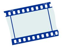 Fragment of film Stock Photo