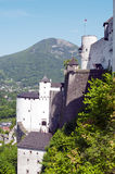 Fragment of the  fortress Hohensalzburg #2 Royalty Free Stock Photography