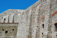 Fragment of Fortress Wall Royalty Free Stock Photos