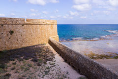 Fragment of the fortress wall Stock Photography