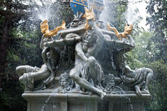 Fragment of fountain Stock Photos