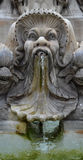 A fragment of the fountain in Rome Royalty Free Stock Photography