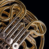 Fragment french horn Stock Photos