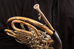 Fragment French Horn Stock Image