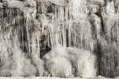 Icefall texture Royalty Free Stock Image