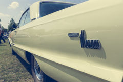 Fragment of a full-size automobile Dodge Monaco Stock Photography