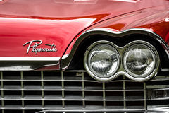 Fragment of a full-size car Plymouth Belvedere Stock Photo
