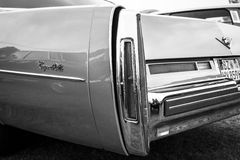 Fragment of a full-size luxury car Cadillac Coupe de Ville Royalty Free Stock Photography