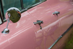 Fragment of a full-size luxury car Cadillac de Ville Stock Image