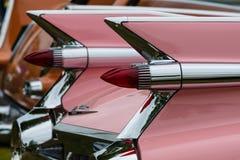 Fragment of a full-size luxury car Cadillac de Ville Stock Photos