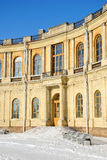 The Fragment of Gatchina palace facade Royalty Free Stock Image