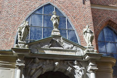 Fragment of German Church in Stockholm. Royalty Free Stock Images