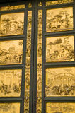 Fragment of golden gate Royalty Free Stock Image