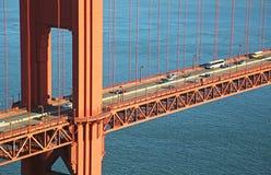 Fragment of Golden Gate Bridge Stock Photo