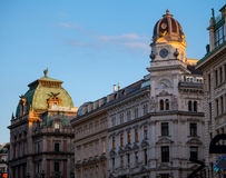 Fragment of Graben Street Stock Photo