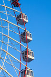 Fragment of grand ferris wheel Royalty Free Stock Image