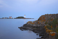 Fragment of Grand Marais Stock Photography