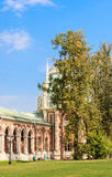 A fragment of the Grand Palace architecture. Museum-Reserve Tsaritsyno Stock Photos