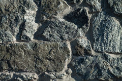 Fragment of granite wall Royalty Free Stock Photos
