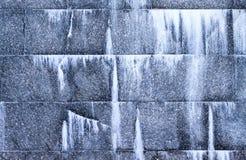 Fragment of granite wall Royalty Free Stock Photo