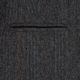 Fragment of a gray suit Stock Photos
