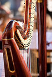 Fragment Harp Royalty Free Stock Image