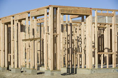 Fragment Of Home Construction Royalty Free Stock Images